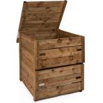 composteur en bois 570 litres