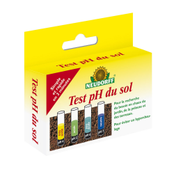 Kit test pH du sol