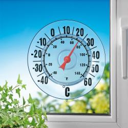 Thermomètre d'extérieur à ventouse