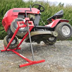 Lève tracteur et tondeuse jusqu'à 400 Kg