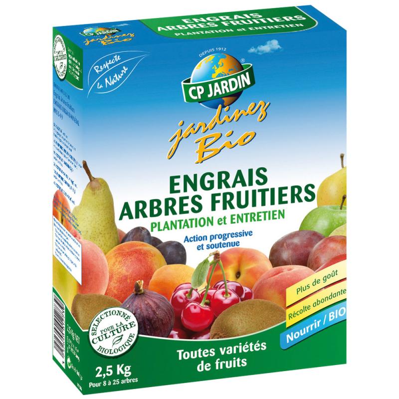 Engrais Arbres Fruitiers 2,5 Kg
