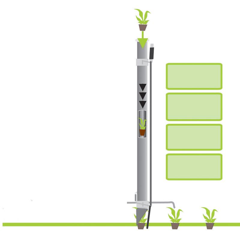 Plantoir à Plants-Bulbes-Mottes (petit modèle)