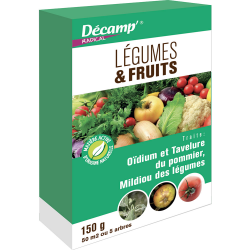 Légumes & Fruits 150 Gr (oïdium, tavelure...)