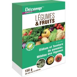 Légumes & Fruits 150 Gr (oïdium, tavelure...)