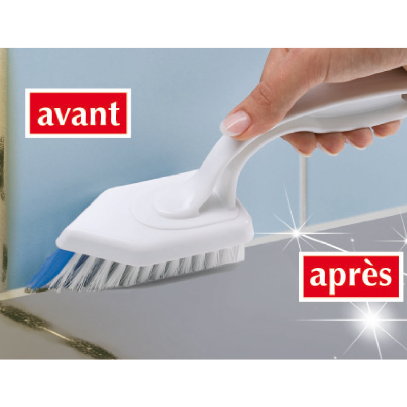 Brosse à joints de carrelages