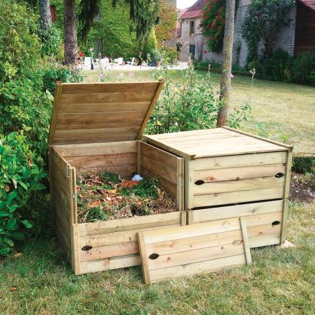 Composteur bois GARDIGAME® 570L