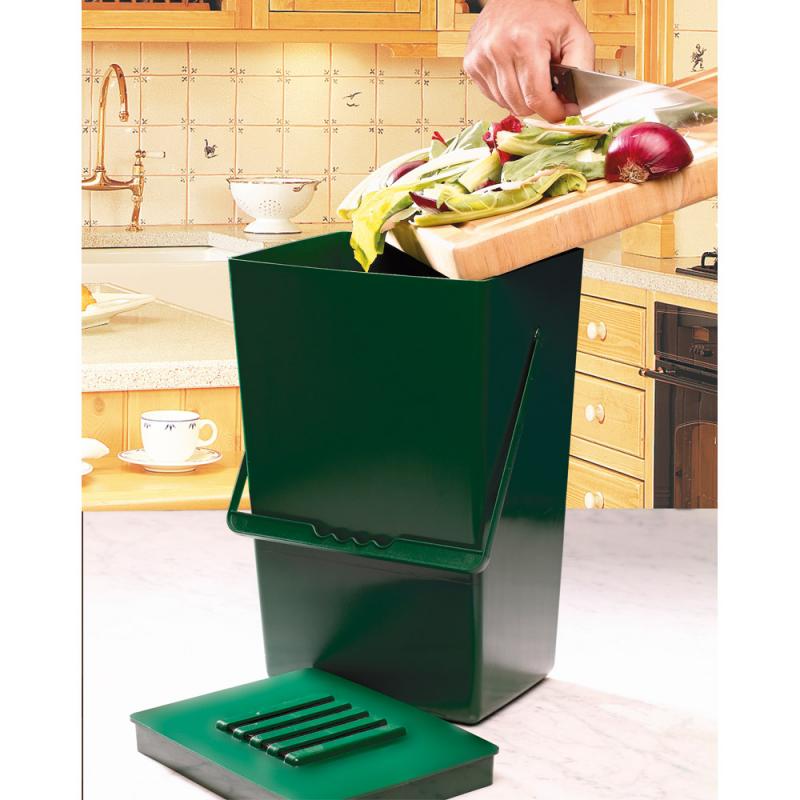 Poubelle à compost inodore