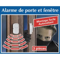 3 Alarmes de Porte & Fenêtre