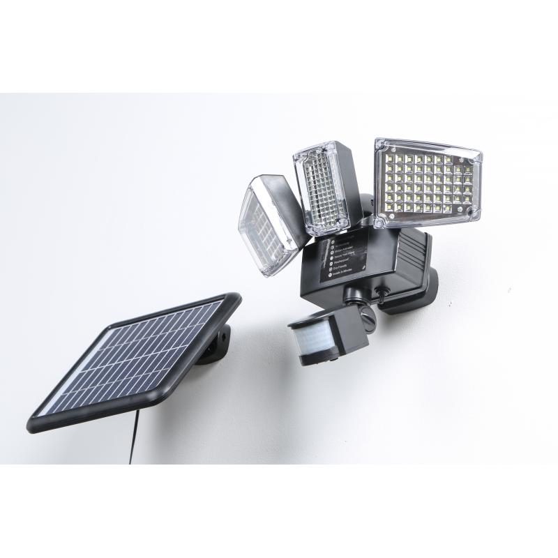 Projecteur Solaire Double à détecteur de mouvement