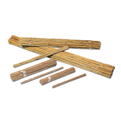 Tuteurs bambou naturel - Lot de 20