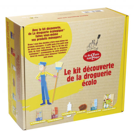 Kit Découverte Faire ses  Produits Ménagers