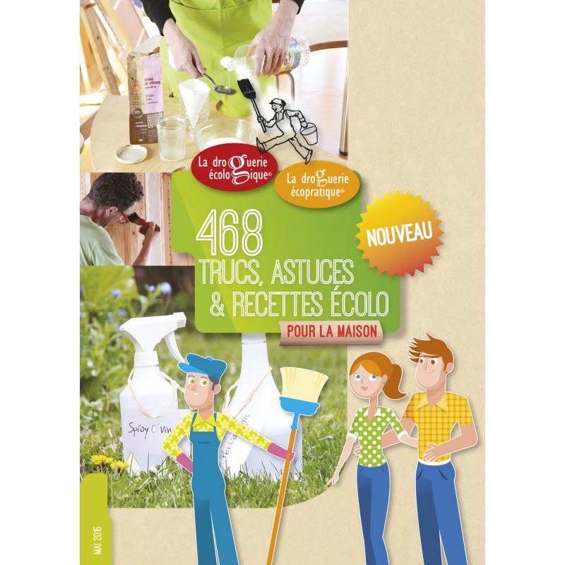 Livre 468 trucs, recettes et astuces ecologique
