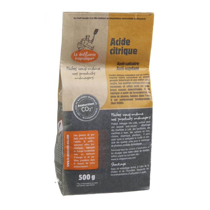 Acide citrique 500g sac