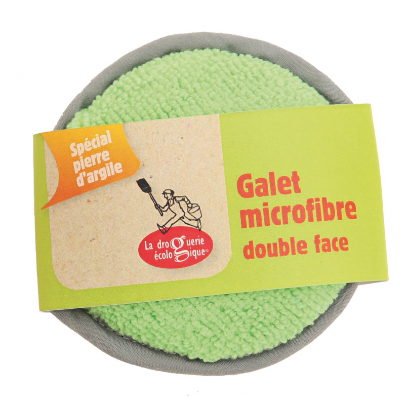 Galet microfibre double face
