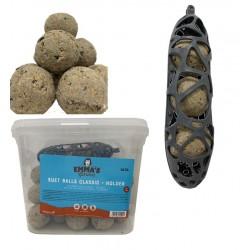 35 boules à Oiseaux + support mangeoire