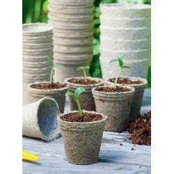 18 Pots Biodégradables Ronds 8cm