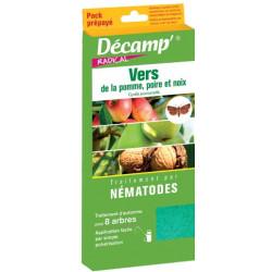 Nématodes contre carpocapse (Pack prépayé)