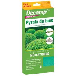 Nématodes la Pyrale du Buis (Pack prépayé)