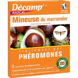 Phéromones contre la Mineuse du Marronnier