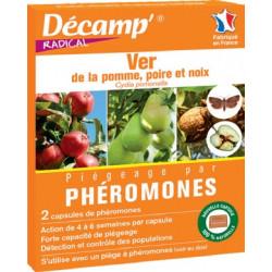Phéromones contre le Ver des Pommes, Poires, Noix