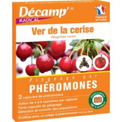 2 phéromones Ver de la Cerise (Rhagoletis c.)