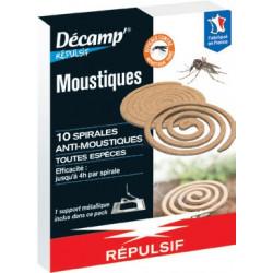 Recharge de 10 Spirales Anti-Moustiques