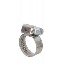 Colliers de serrage inox 12 à 20mm