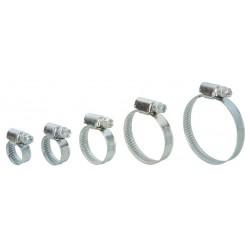 10 Colliers de serrage acier 10 à 50mm