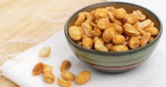 Cacahuètes grillées faites maison